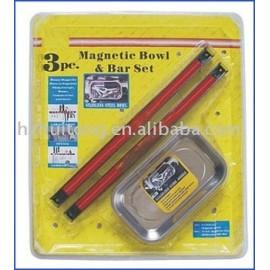 3 pcs plateau magnétique et porte - outil ensemble