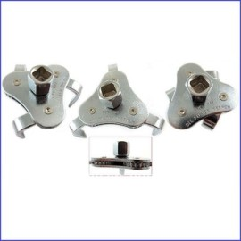 Filtre à huile clé à griffes 63 - 103 mm capacité 3/8