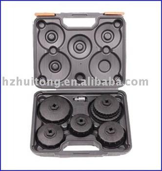 6-pièces filtre à huile clé bouchon ensemble