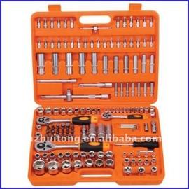152-Piece 1/4, 3/8, 1/2 lecteur Standard / clé à douille métrique définie