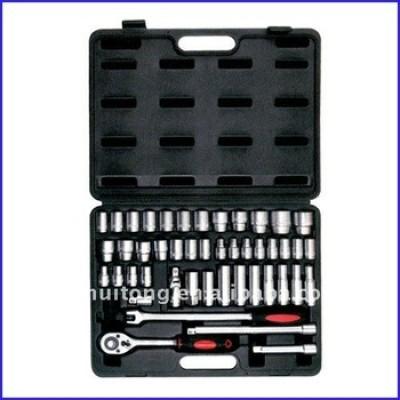 46-Piece 1/2 - pouces Standard et clé à douille métrique Kit