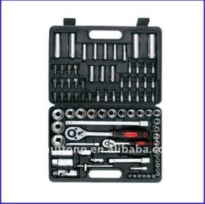 87-Piece 1/4, 1/2 lecteur Standard / métrique Socket Tool Set