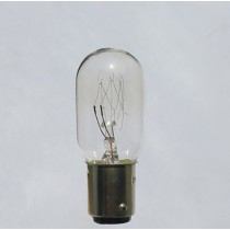 T22 BA15D 20W Sewing Machine Lamp Bulb for replacement, Size T22x55