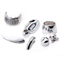 China customs high quality hard  & professional chrome plating plastic part