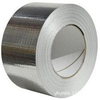 HVAC fiber glass duct insulation aluminum tape