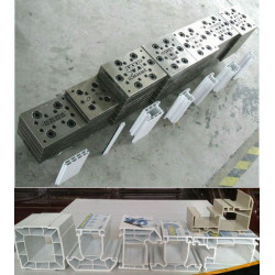 Good quality window pvc profile extruding mould from china