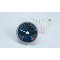 plastic round capillary thermometer for water heater, boiler. WKO-120A