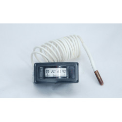 front mounting rectangle capillary thermometer WKD-120 sales from china.