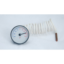 good quality freezer, fridge, refrigeration round capillary thermometer  WKO-40C