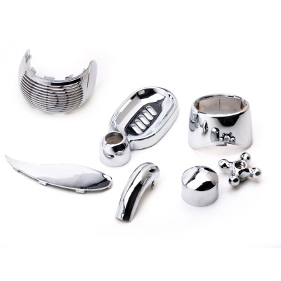 Silver Chrome Plating Service for ABS plastic injection part, especially for home appliance, 48 or 72hrs salt testing approval.