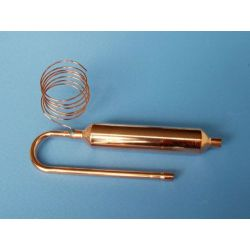 welded copper filter dryer with capillary tube on sales from china
