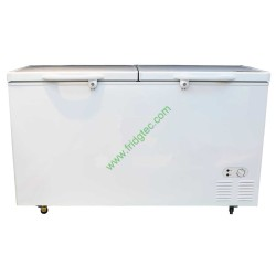 China export good quality solid hinged lid chest freezer BD-418