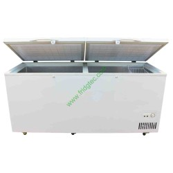 china top open solid lid chest freezer with CE BD-608