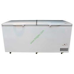 China export solid door top open chest freezer BD-728
