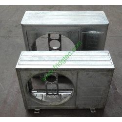 Air conditioner front panel metal stamping punching die