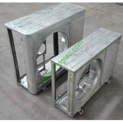 Air conditioner rear right panel metal stamping punching die