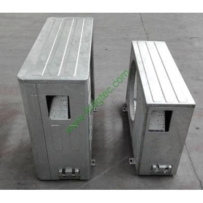 Air conditioner gas valve bracket metal stamping punching die