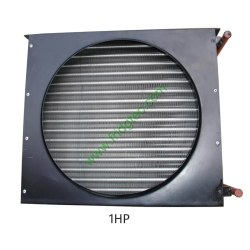 1HP copper tube fin condenser coil unit on sales