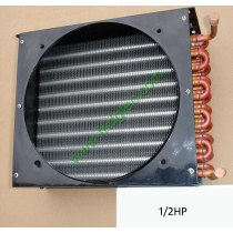 1/2HP copper tube aluminum fin condenser coil unit on sales