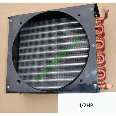 1/2HP copper tube aluminum fin condenser coil unit on sales