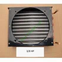 3/8HP copper tube aluminum fin condenser coil unit on sales