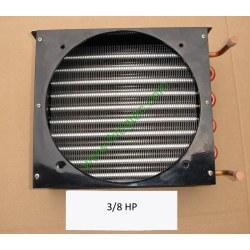 3/8HP copper tube aluminum fin condenser coil unit on sales