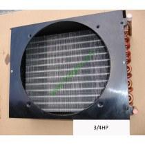 3/4HP copper tube aluminum fin condenser coil unit on sales