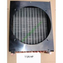 1 1/4HP copper tube aluminum fin condenser coil unit on sales