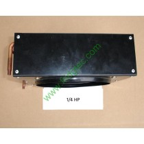 0.25HP copper tube aluminum fin simple dry cooler