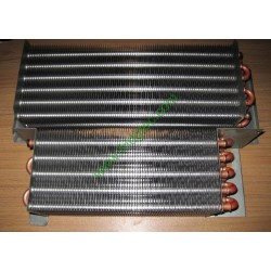 Gastronorm freezer, fridge copper tube  aluminum fin evaporator