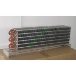 China export good quality upright beer cooler  copper tube aluminum fin evaporator