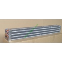 Upright freezer,showcase, visi cooler copper tube fin evaporator