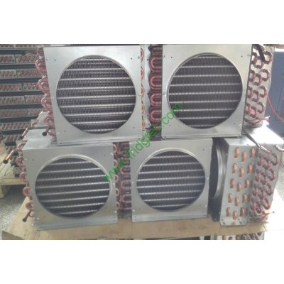 good quality displayed cooler refrigerator copper tube fin condenser coil on sales
