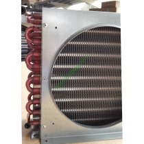 high quality beverage cooler copper tube aluminum fin condenser made in china