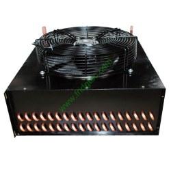high quality air cooled copper tube fan conndenser coil HR-CD-016