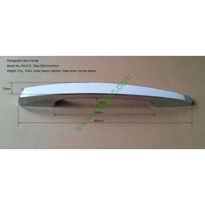 Good quality refrigerator chrome plated door handle RH-010