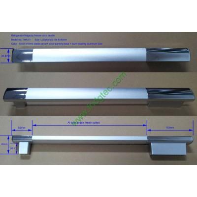 China good quality refrigerator/fridge aluminum door handle on sales  RH-011