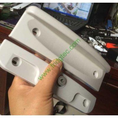 New design top open solid door chest freezer plastic door handle CH-017