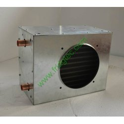 China made wood furnace liquid to air heat exchanger