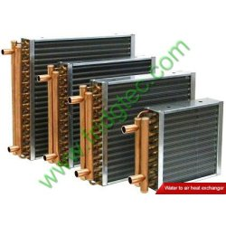 China made water boiler copper tube aluminum fin finned heat exchanger
