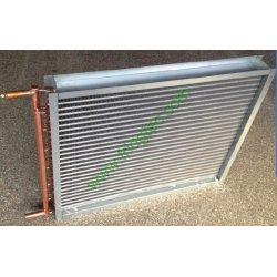 China made copper tube fin type heat exchanger for truck