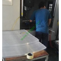Chinese sbs refrigerator twin freezer door handle factory