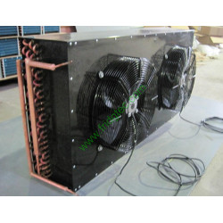 factory supply copper tube aluminum fin water coils integrated with fan from china