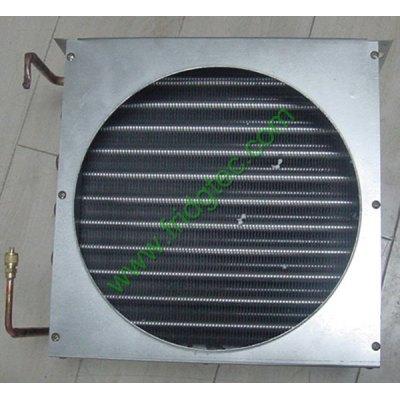 Commercial refrigeration freezing copper tube aluminum fin condenser