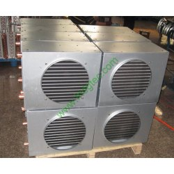 China high quality refrigeration air cooled copper condenser