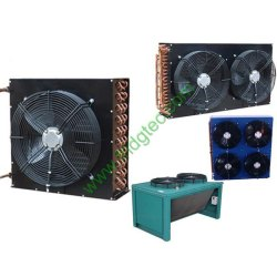 china good quality air cooled cold room copper condenser