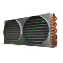 Factory supply copper tube aluminum fin condenser coil for refrigeration system