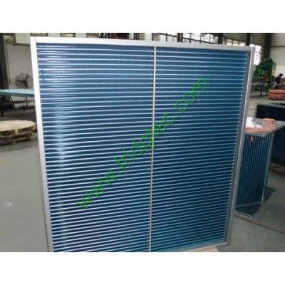 Factory supply dehumifier copper tube hydrophilic aluminum fin condenserv