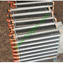 Refrigeration high efficiency heat exchange copper tube aluminum fin evaporator