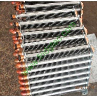 Refrigeration high efficiency heat exchange copper tube aluminum fin evaporator